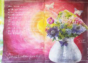 sabinelamarche-journal créatif - concrétisation positive