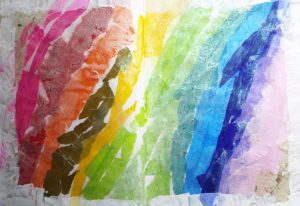 sabine lamarche - stage couleurs - arc en ciel