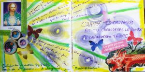 sabine lamarche - shambhalla et journal créatif - change